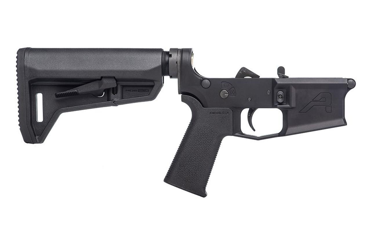 Aero Precision M4E1 Complete Lower Receiver w/ MOE SL Grip & SL-K Carbine Stock CALIFORNIA LEGAL - .223/5.56