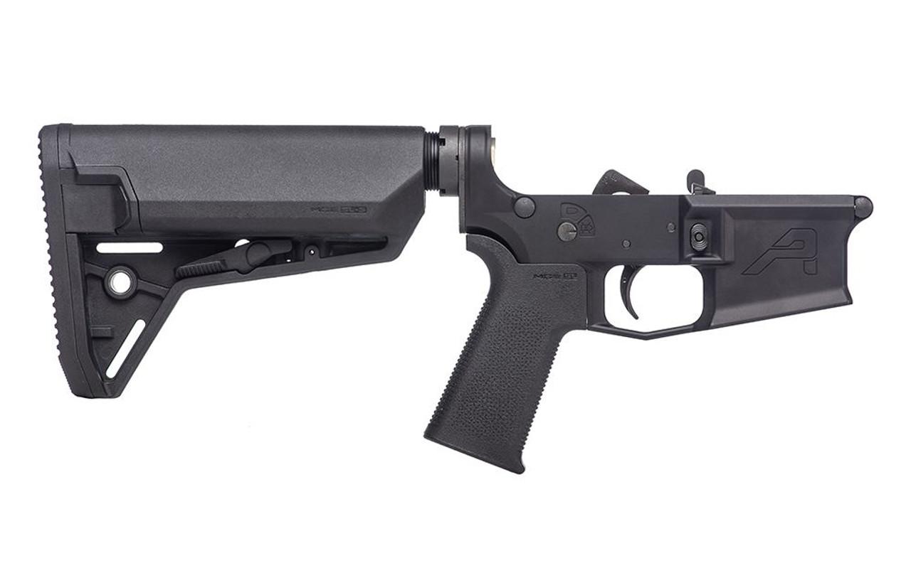 Aero Precision M4E1 Complete Lower Receiver w/ MOE SL Grip & SL-S Carbine Stock CALIFORNIA LEGAL - .223/5.56