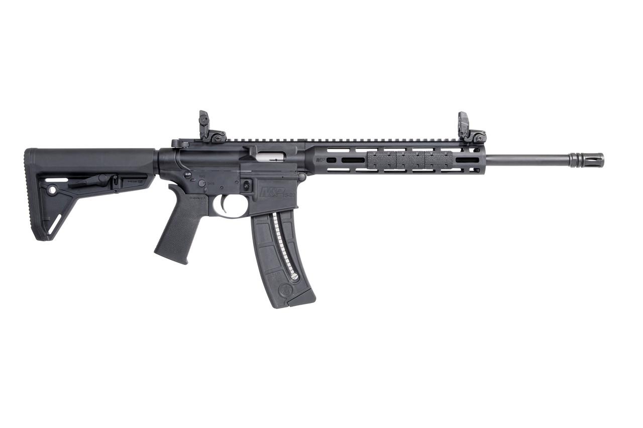 "Smith & Wesson M&P15-22 Sport MOE SL 16.5"" MBUS CALIFORNIA LEGAL - .22 LR"