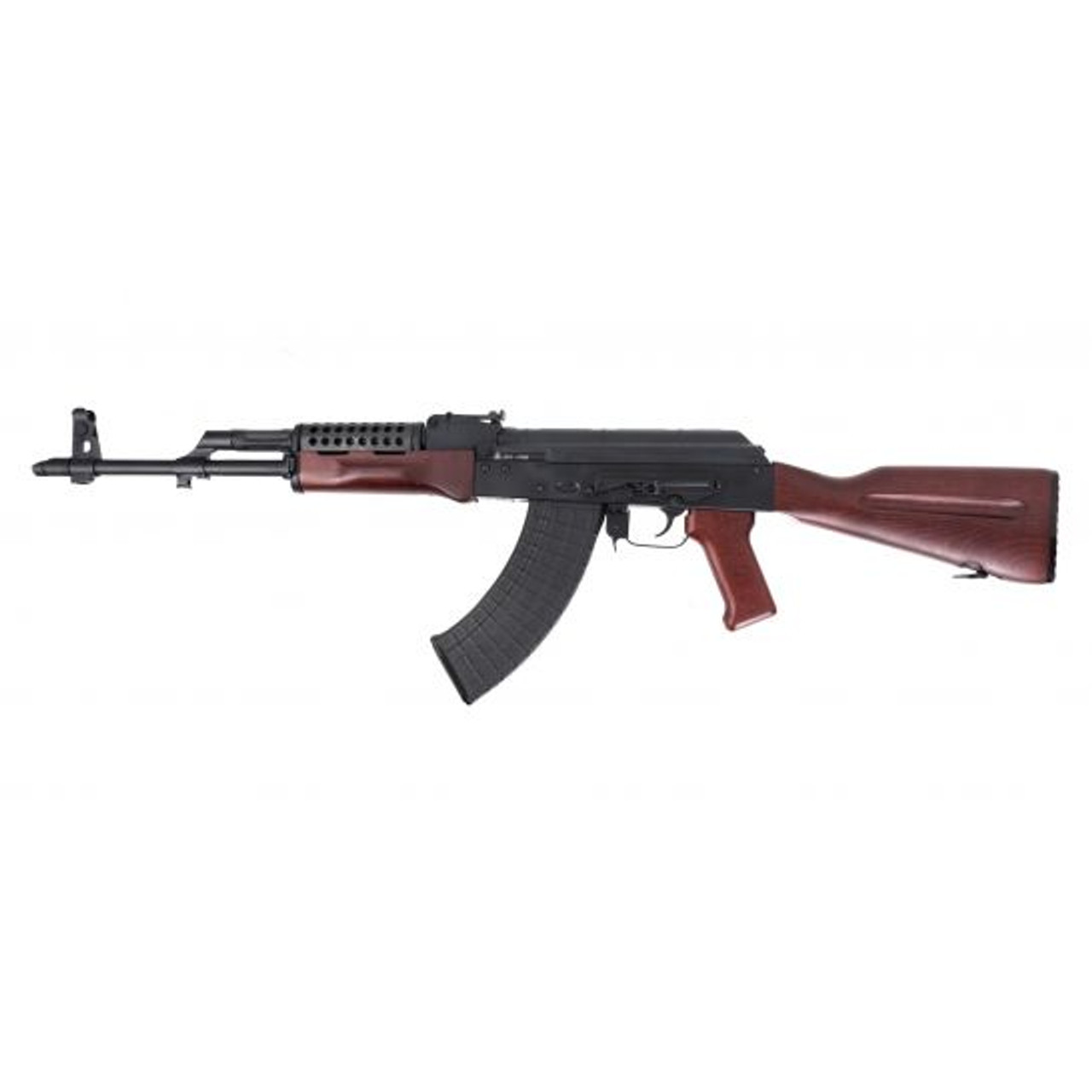 Palmetto State Armory PSAK-47 GF3 Forged Cheese Grater HG CALIFORNIA LEGAL - 7.62x39 - Red Wood