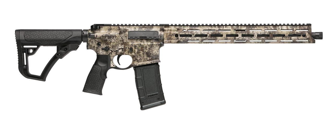 Daniel Defense DDM4 Hunter CALIFORNIA LEGAL - .300 Blackout - Kryptek Highlander