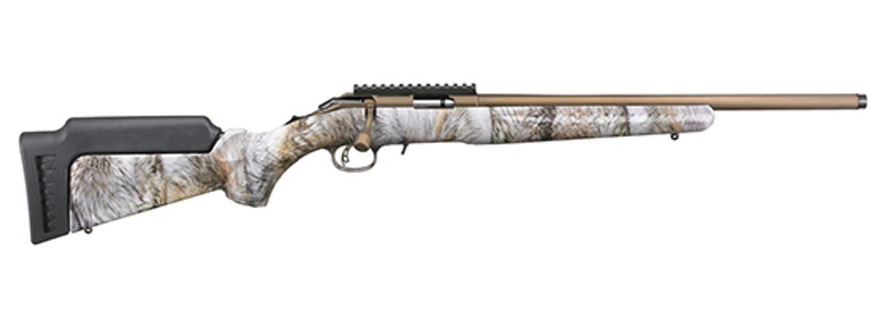 Ruger American Rimfire Rifle CALIFORNIA LEGAL - .17 HMR - YOTE Camo
