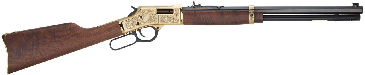 Henry Big Boy Deluxe CALIFORNIA LEGAL - .38 Spl/.357 Mag - Walnut/Brass