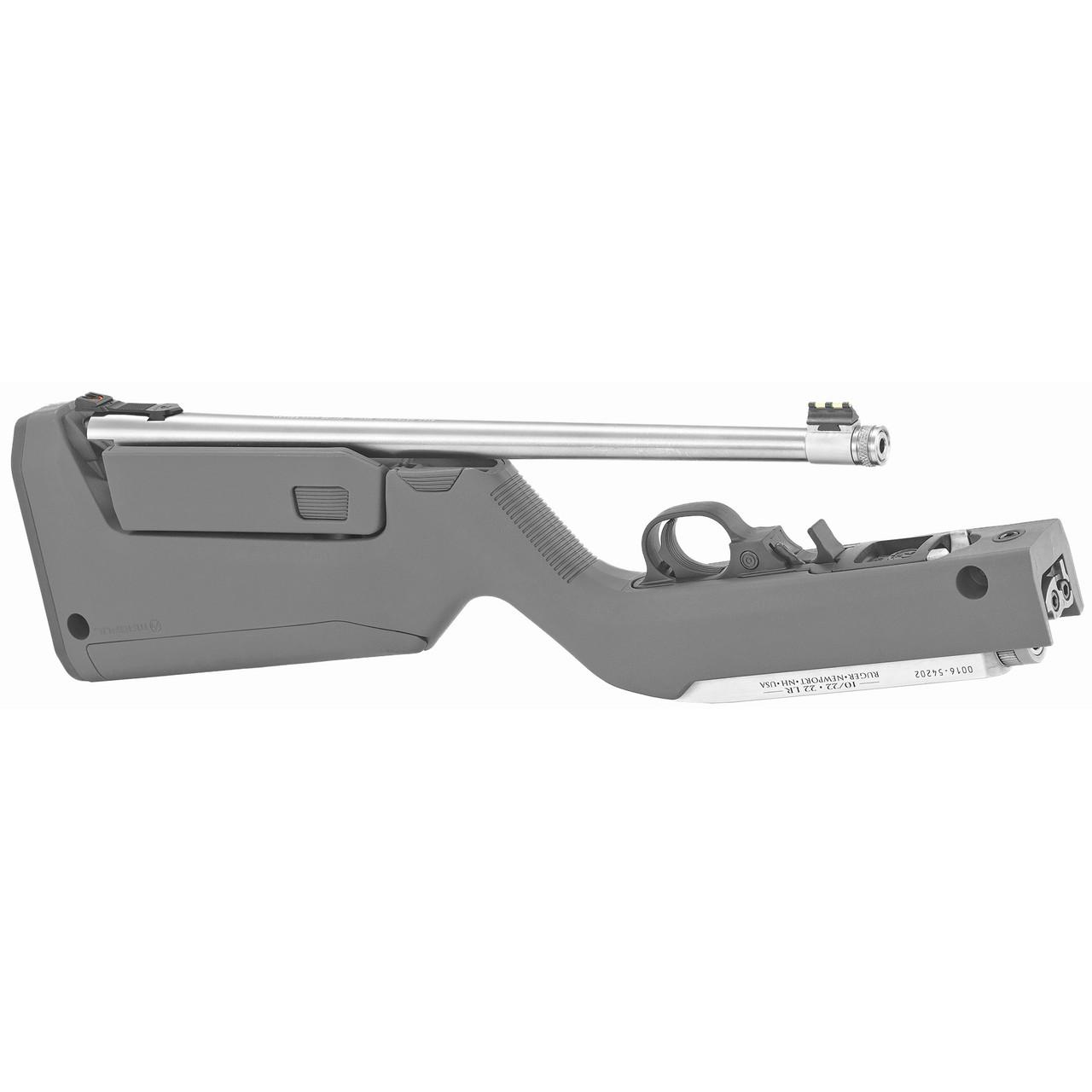 Ruger 10/22 Takedown Backpacker CALIFORNIA LEGAL - .22 LR - Stealth Gray