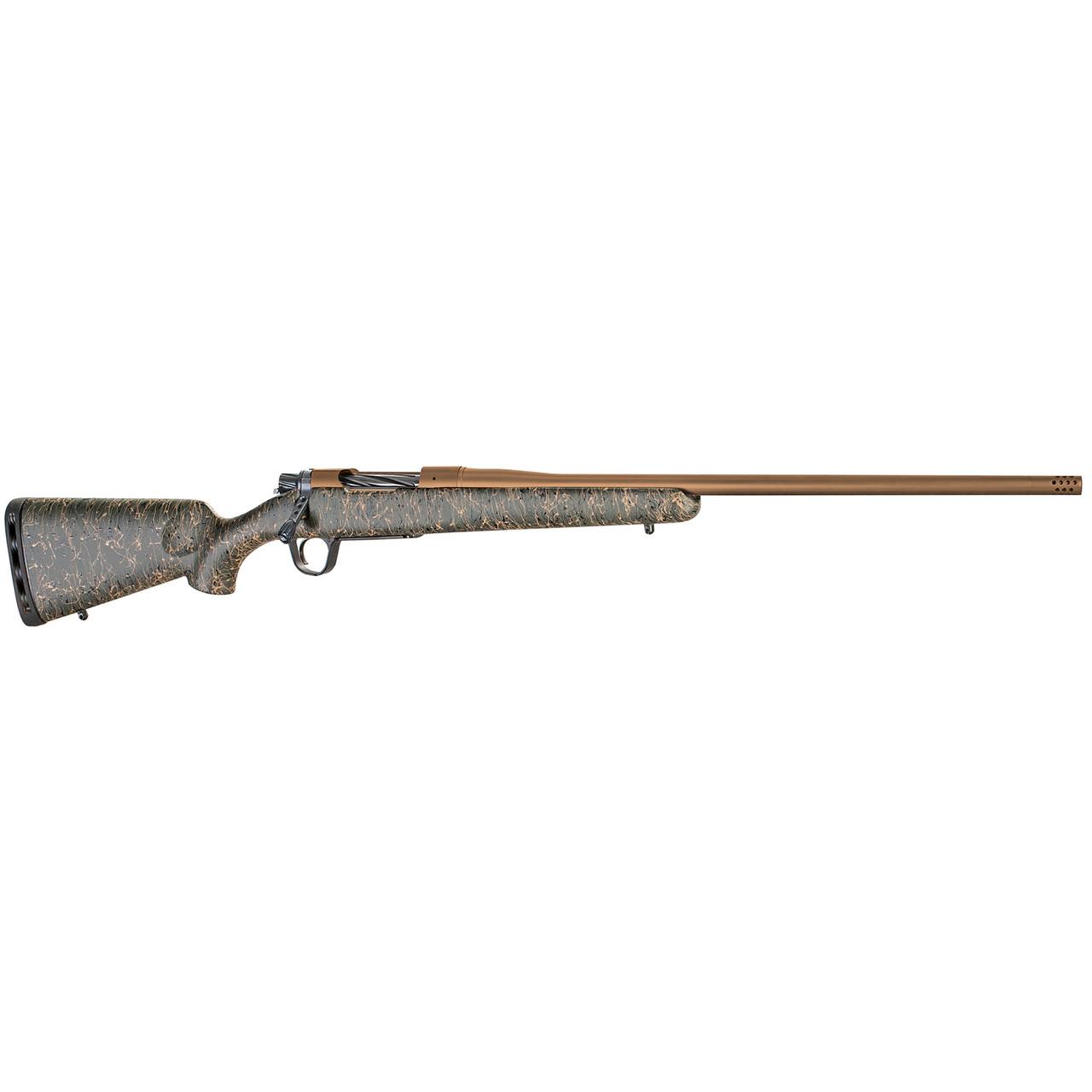 Christensen Arms Mesa CALIFORNIA LEGAL - .308/7.62x51 - Green w/ Black & Tan Webbing