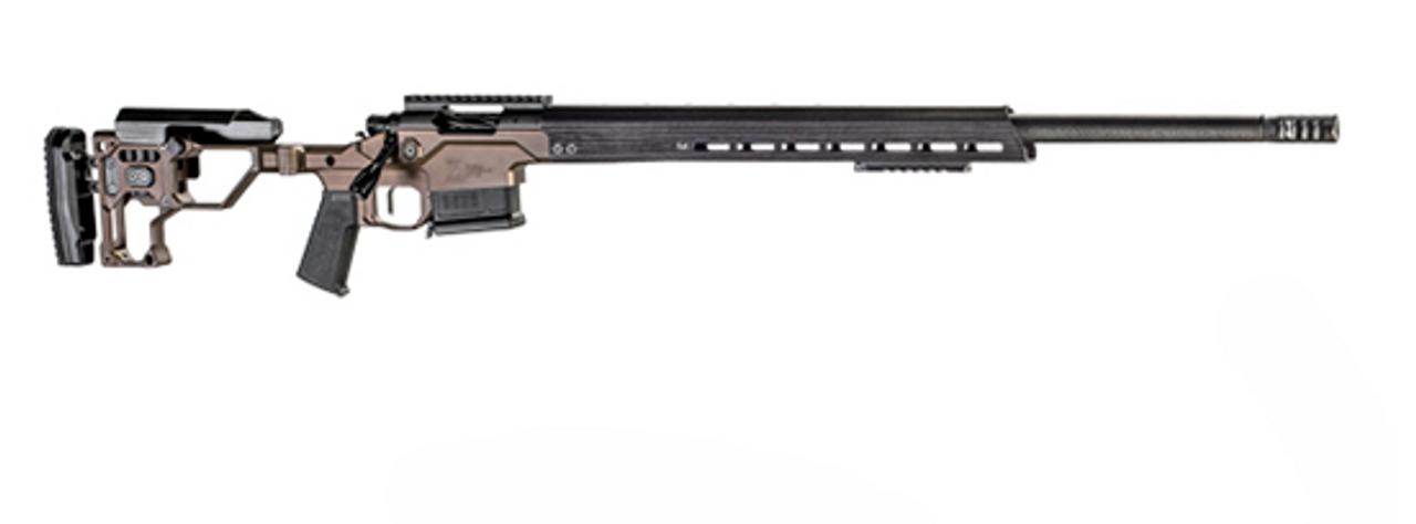 "Christensen Arms MPR 27"" M-Lok CALIFORNIA LEGAL - .338 Lapua - Brown/Carbon Fiber"