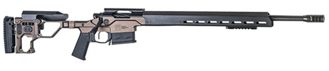 "Christensen Arms MPR 20"" M-Lok Contoured Barrel CALIFORNIA LEGAL - .223/5.56 - Brown/Carbon Fiber"