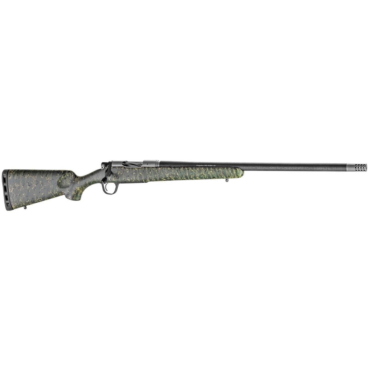 "Christensen Arms Ridgeline 26"" SS Action CALIFORNIA LEGAL - .300 Win Mag - Green w/ Black & Tan Webbing"