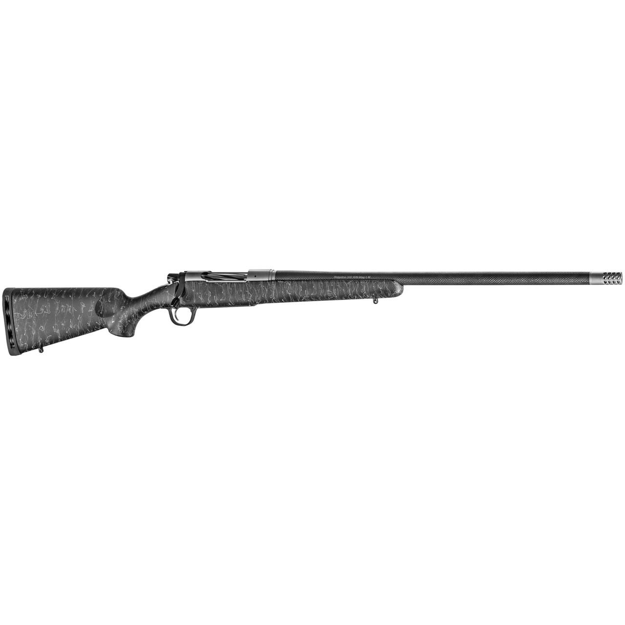 "Christensen Arms Ridgeline 24"" SS Action CALIFORNIA LEGAL - 6.5 Creedmoor - Black w/ Gray Webbing"