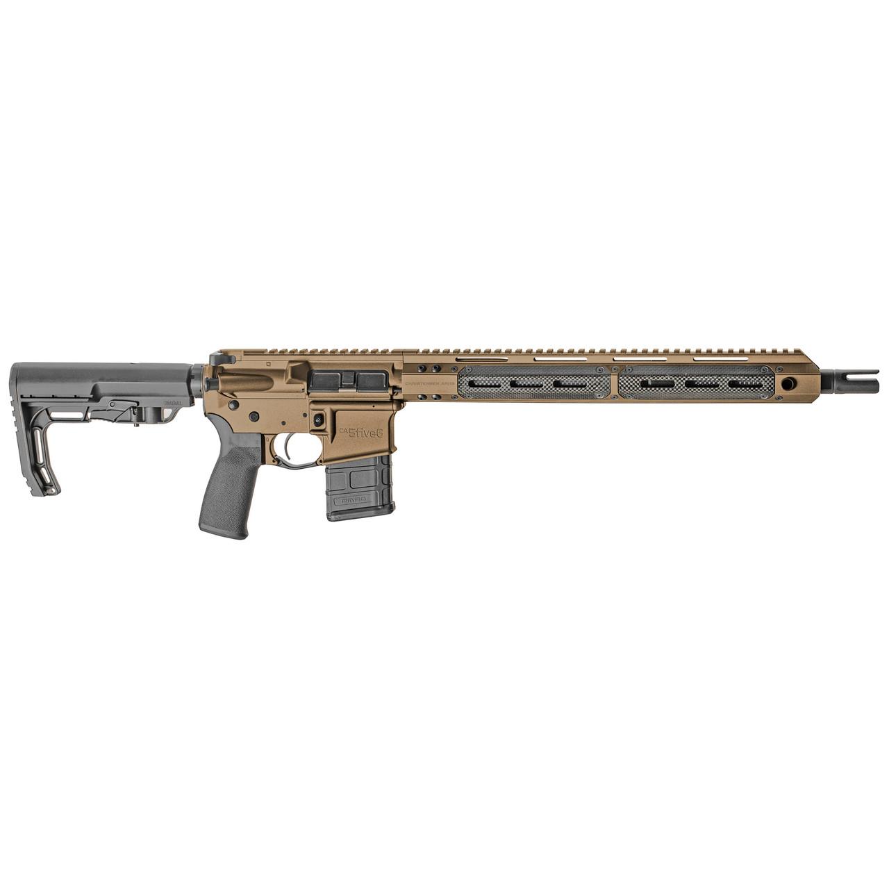 "Christensen Arms CA5five6 16"" CALIFORNIA LEGAL - .223/5.56 - Burnt Bronze w/ Carbon Fiber"