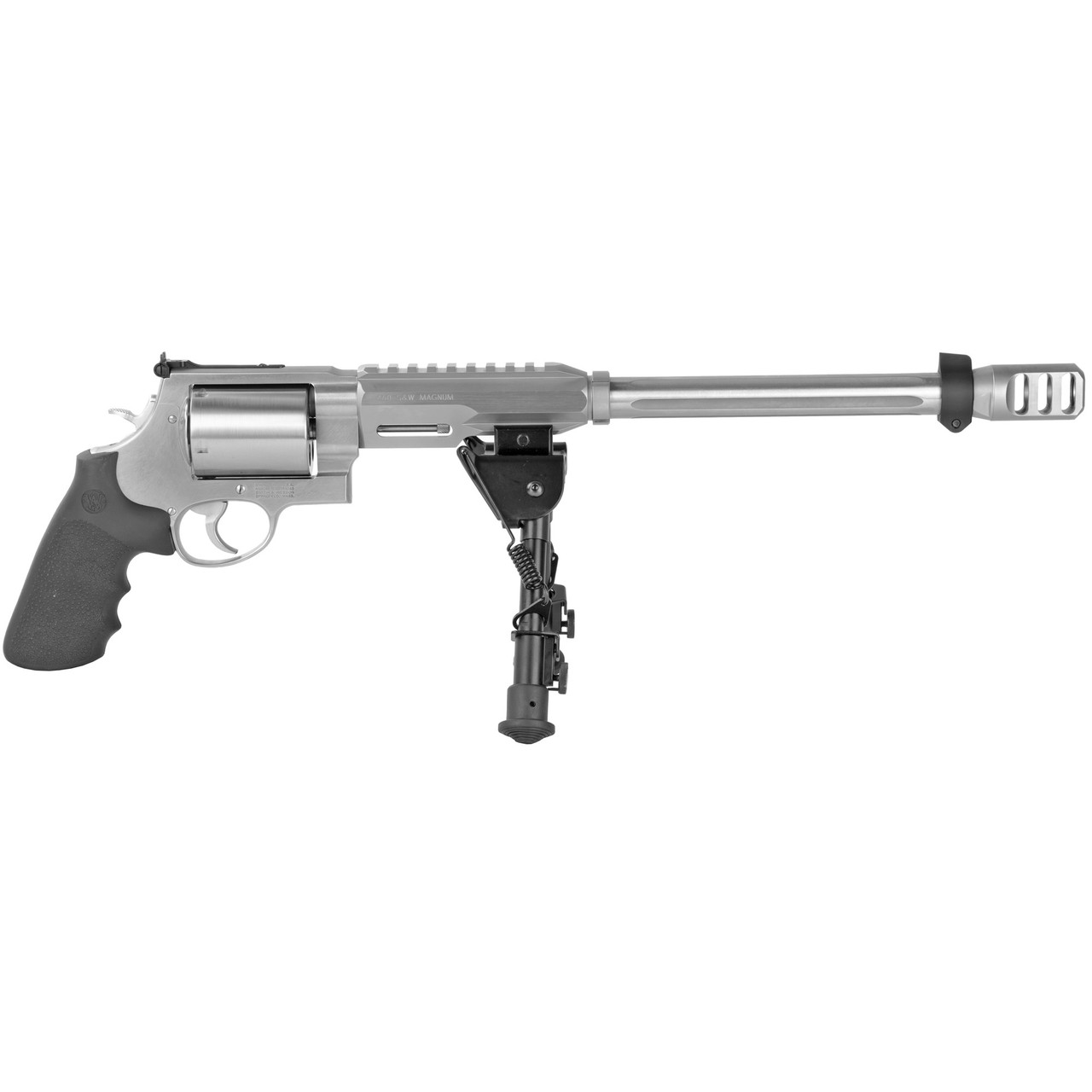 """Smith & Wesson 460XVR Hunter Performance Center 14"""" CALIFORNIA LEGAL - .460 Magnum - Silver"""