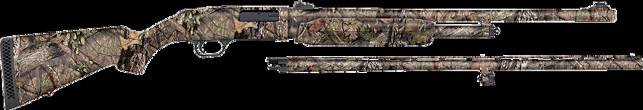 Mossberg 500 Combo Field/Deer CALIFORNIA LEGAL - 20ga - MOBUC Camo