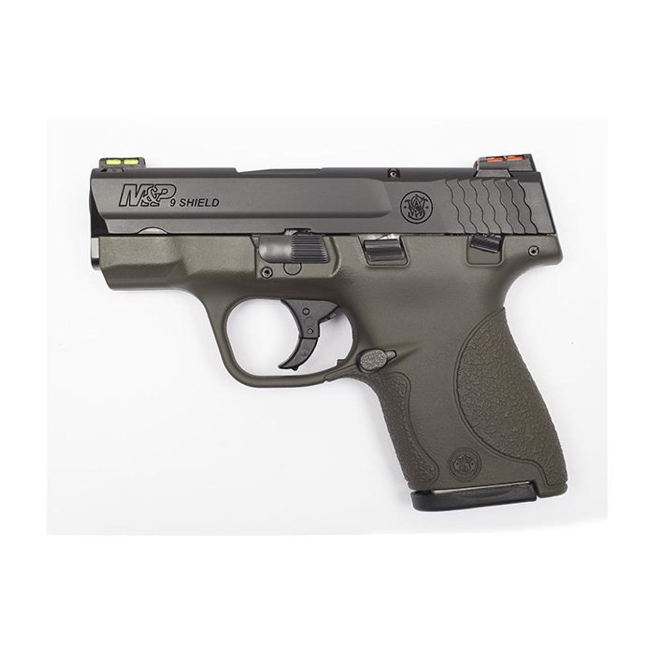 Smith & Wesson M&P 9 Shield Hi-Viz CALIFORNIA LEGAL - 9mm - ODG