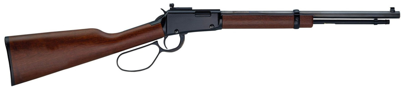 Henry Small Game Carbine w/Large Loop Lever CALIFORNIA LEGAL - .22 WMR - Walnut