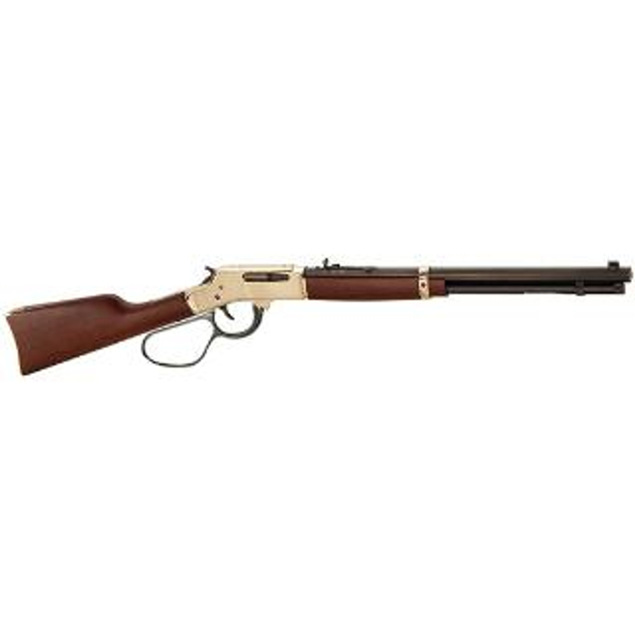 Henry Brass Lever Action w/Large Loop Lever CALIFORNIA LEGAL - .30-30 - Walnut/Brass