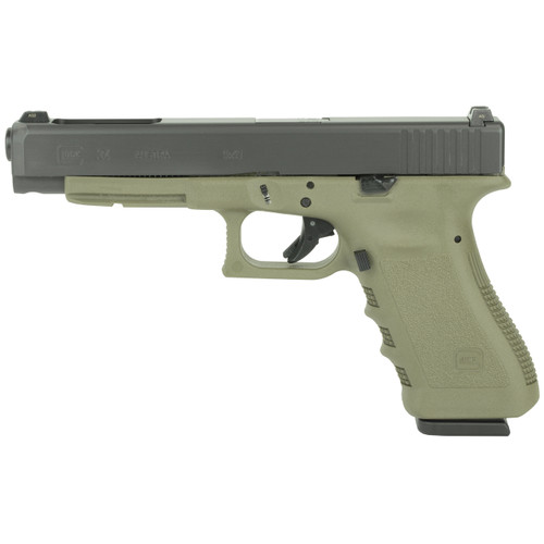 Glock 34 Gen3 OD Green CALIFORNIA LEGAL - 9mm