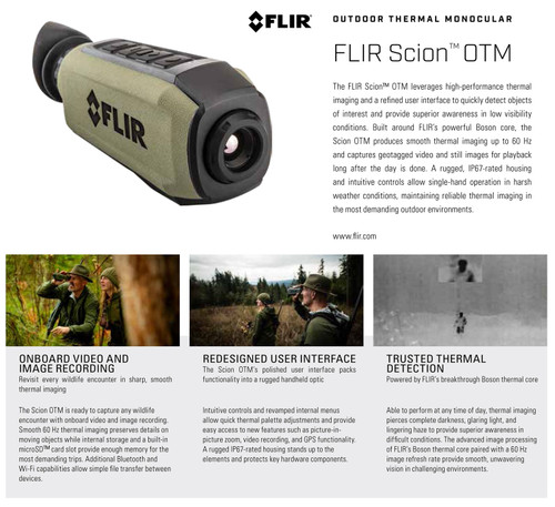 FLIR Scion OTM 136 Green 1.5x