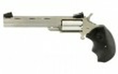 """NAA Mini-Master 4"""" CALIFORNIA LEGAL- .22LR/.22MAG Stainless Steal"""