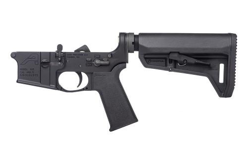 Aero Precision AR15 Complete Lower Receiver w/ MOE SL Grip & SL-K Carbine Stock CALIFORNIA LEGAL - .223/5.56