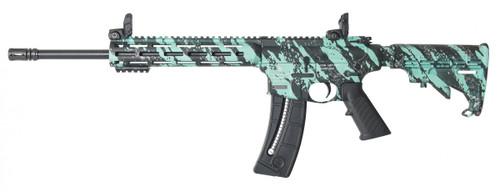 "Smith & Wesson M&P15-22 Sport 16.5"" CALIFORNIA LEGAL - .22 LR - Robin's Egg Blue"