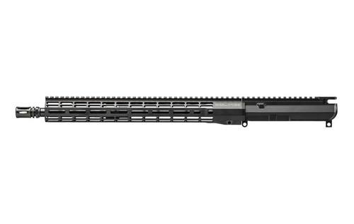 """Aero Precision M4E1 Threaded 16"""" Mid-Length No F/A Complete Upper Receiver w/ 15"""" M-LOK ATLAS R-ONE HG CALIFORNIA LEGAL - .223/5.56"""