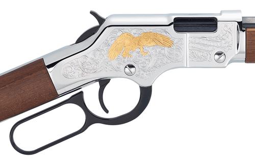 Henry Golden Eagle CALIFORNIA LEGAL - .22 LR - Walnut/Nickel