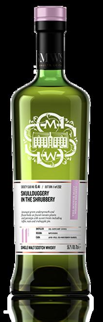 Skullduggery in the shrubbery
