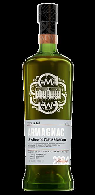A slice of Pastis Gascon