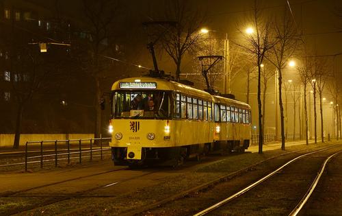 Mit der Whiskybahn durch Dresden