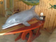 "72"" Porpoise/Bottled Nose 3D Mount Replica - Suspension Mount"