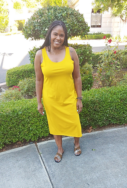 Carmela Midi Tank Dress