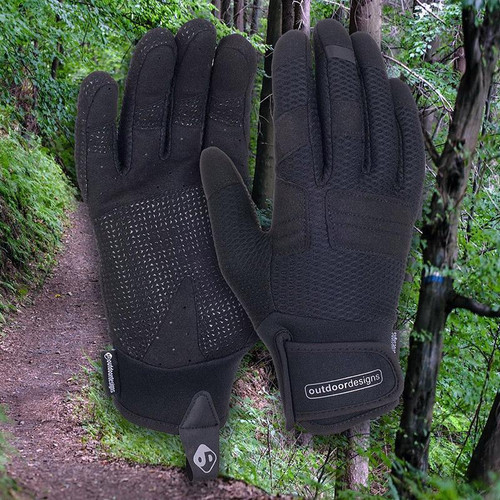 Outdoor Designs Diablo Softshell Bike Gloves