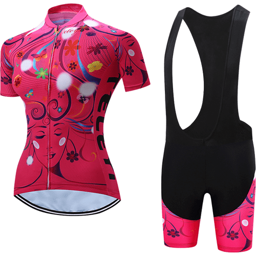 Teleyi Woman's Life Cycling Bib Kit