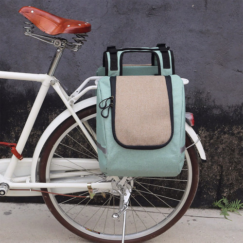 Vintage Insulated Pannier Bag