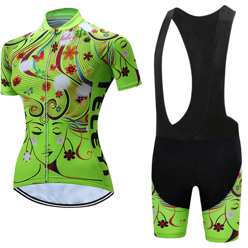 Teleyi Woman's Flow Cycling Bib Kit