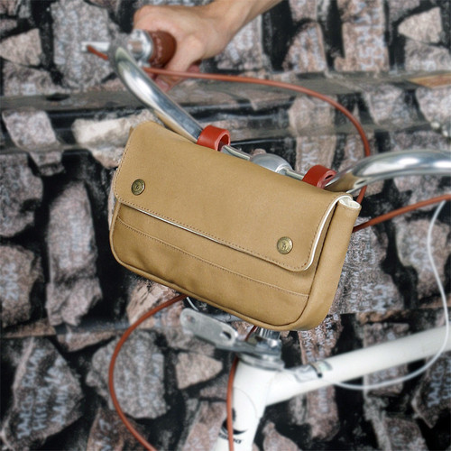 Vintage Waterproof Canvas Handlebar Bag