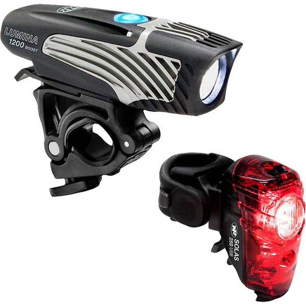 Niterider 1200 Boost & Solas 250 Bike Light Set