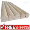 Jeffrey Court | Ivory | 3/4x12 Dome Molding | 90060
