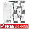 Lutron | AuroRa 5 Dimmer System with Inserts | White | Free Shipping