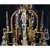 Opryland Hanging Crystal Chandelier   3.5 x 5 ft