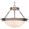 Monument | 2-Light Pendant | Brushed Nickel | 076335567952