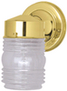 Outdoor Wall Fixture | Polished Brass | 671190