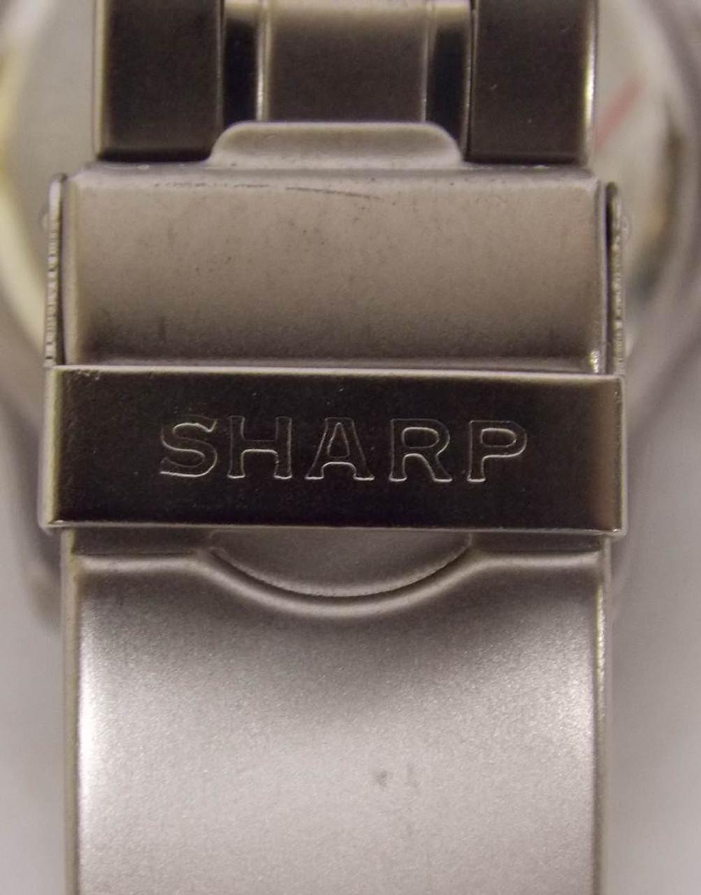 Men's Watch - Blue Face Sharp Silver