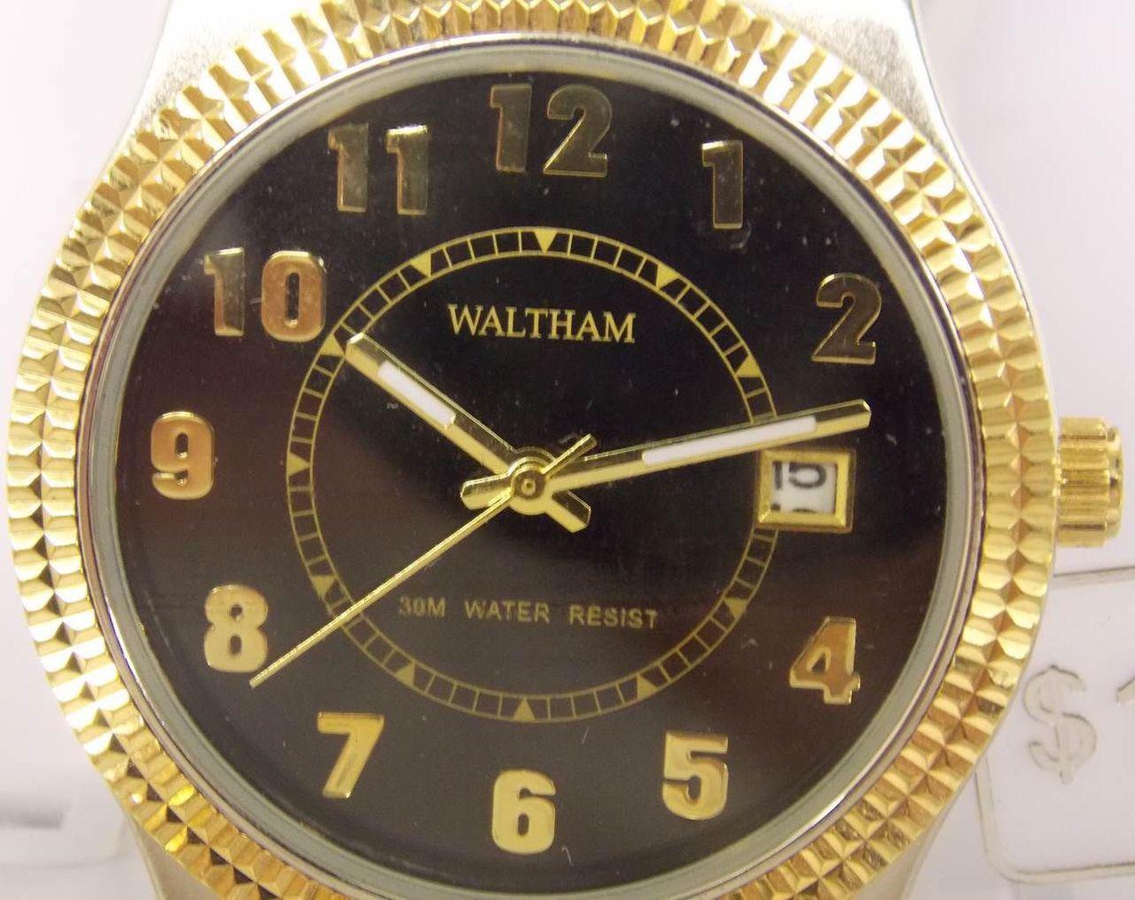 Men's Watch - Gold Waltham