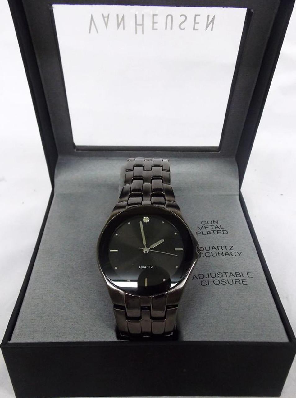 Men's Watch - Van Heusen Charcoal Grey