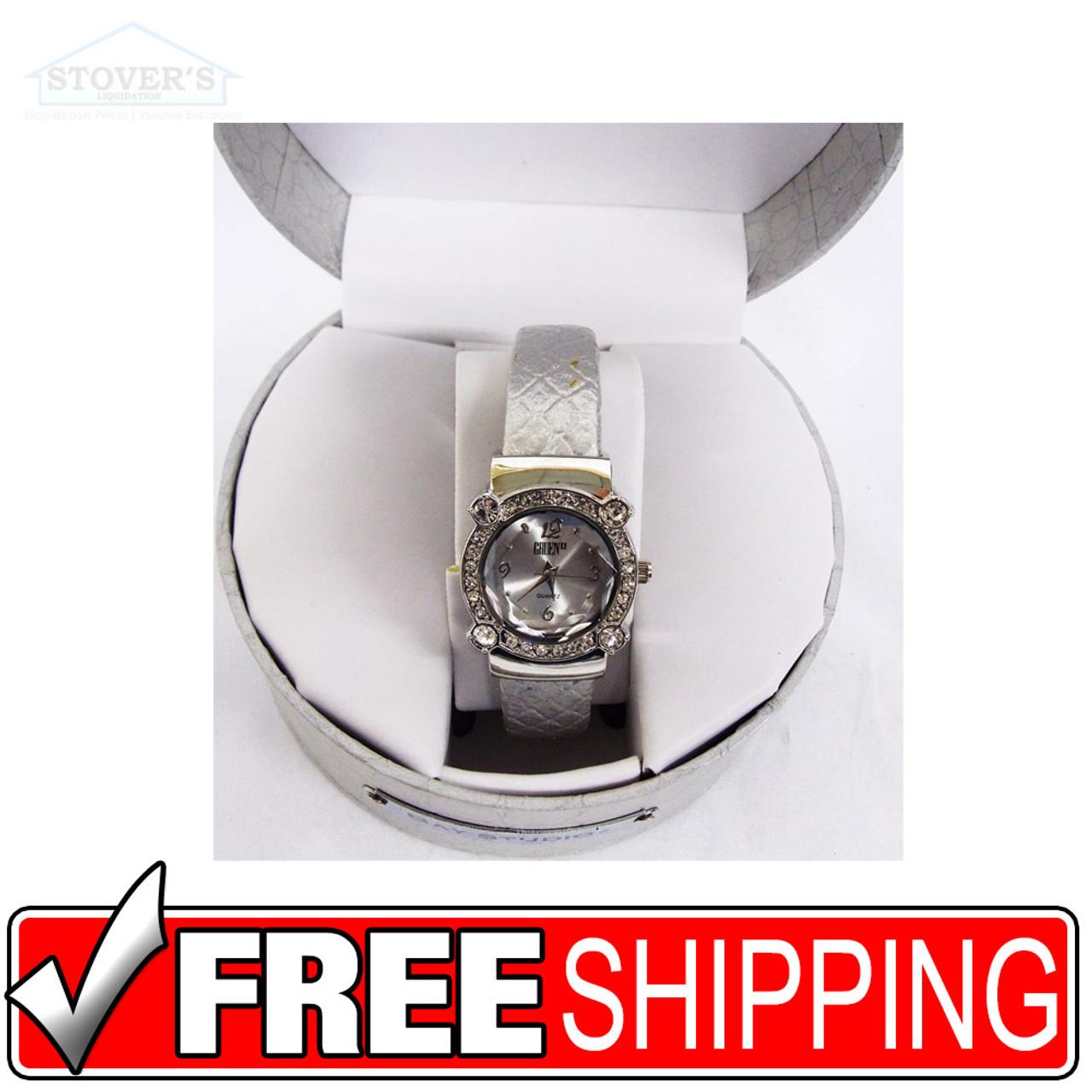 Women's Watch - Gruen II Silver Leather