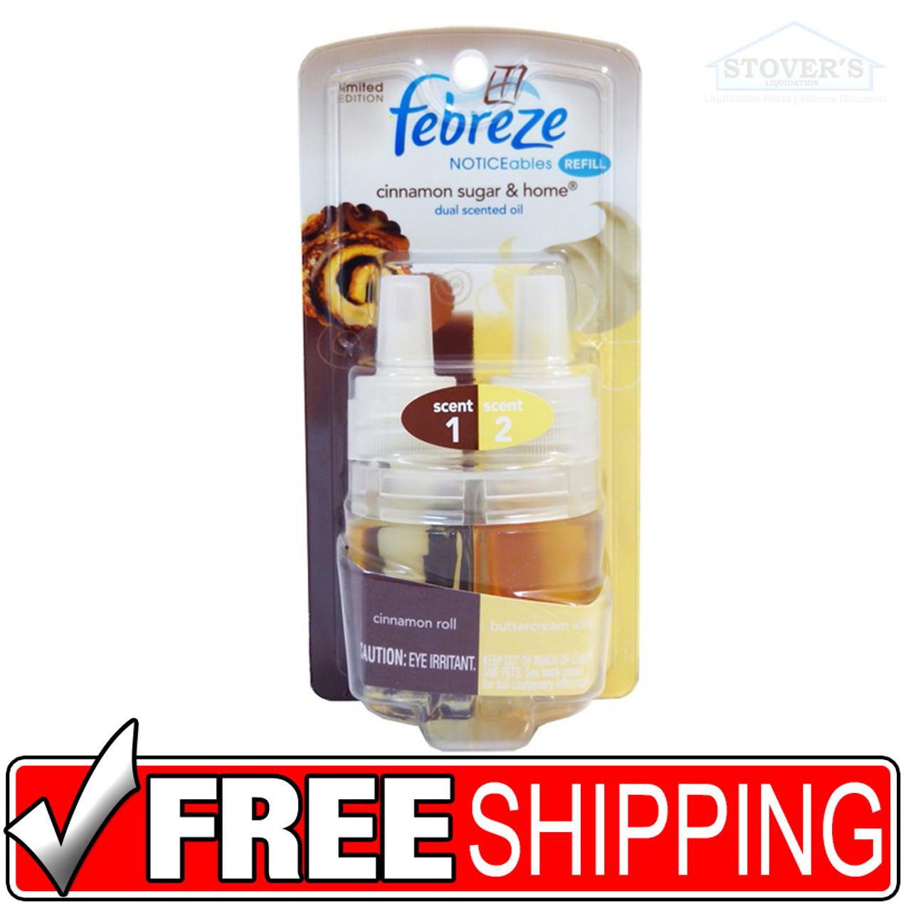 Febreze   Noticeables   Oil Refills   Cinnamon Sugar & Home