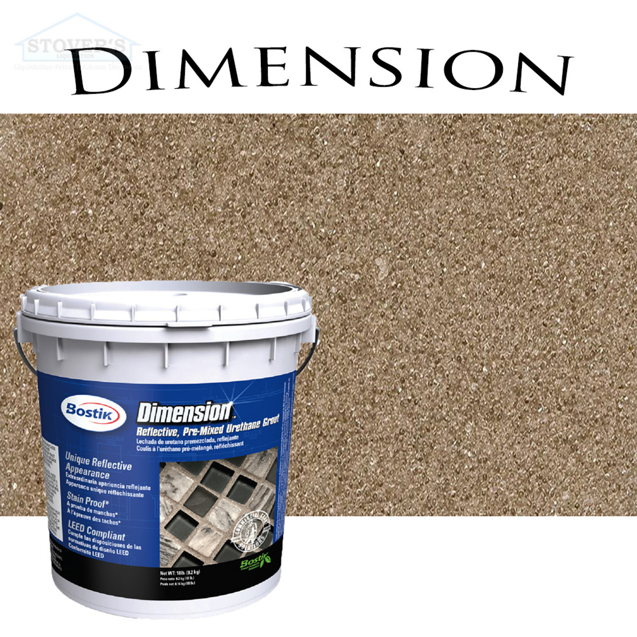 Bostik Dimension | Pre-Mixed Grout | Amber 621 | FREE SHIPPING