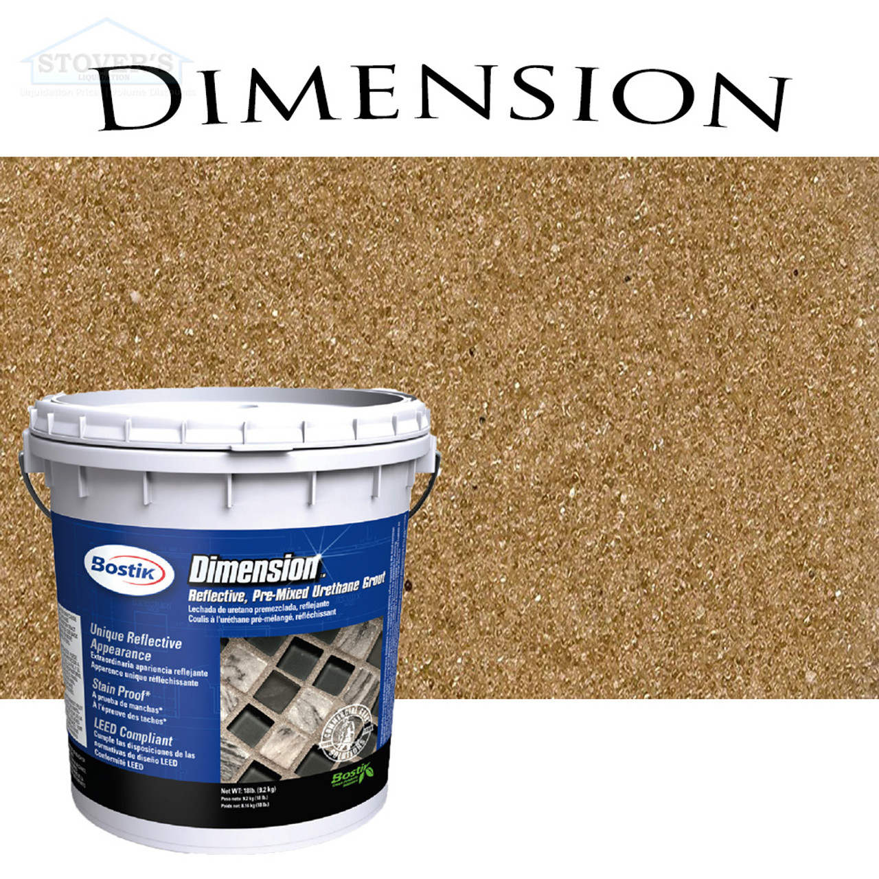 Bostik Dimension | Pre-Mixed Grout | Citrine 640 | FREE SHIPPING