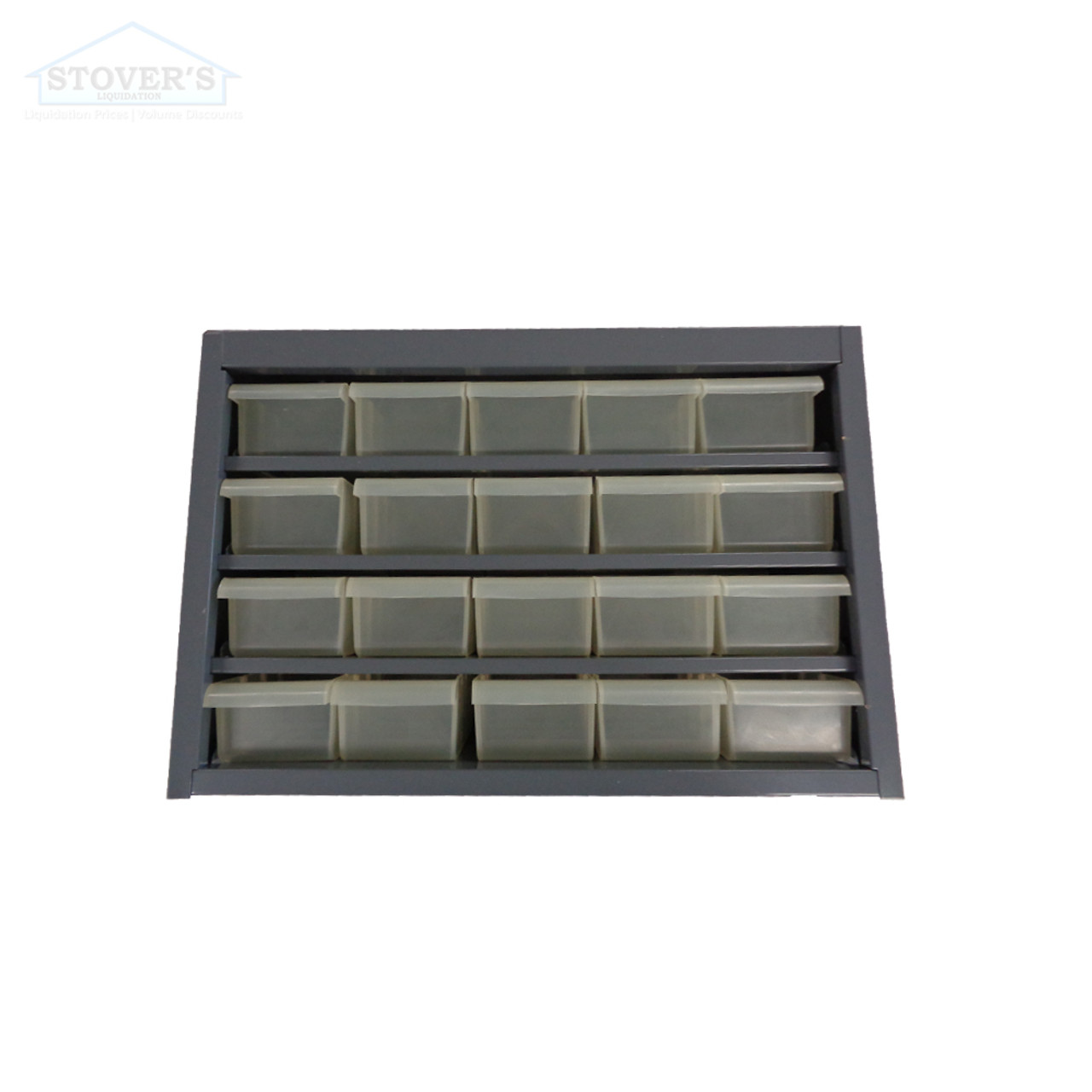 Compartment Storage | Grey | Free Shipping